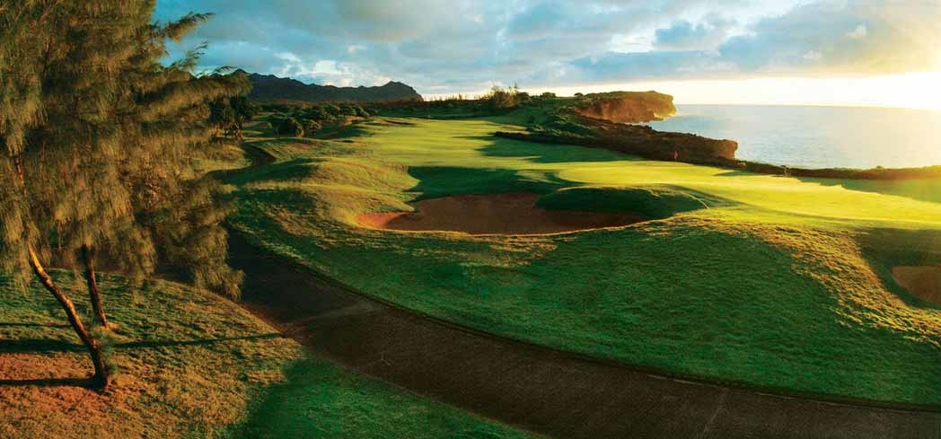 The Poipu Bay course hosted the PGA Grand Slam of Golf from 1994-2006