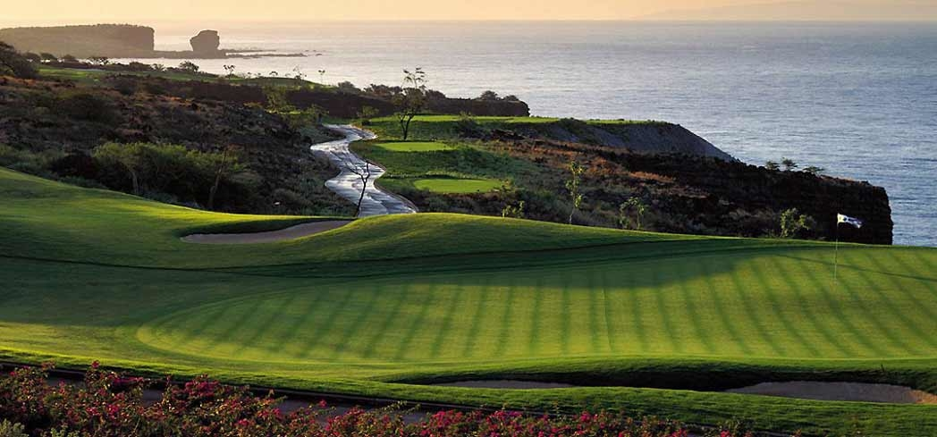 Manele Golf Course was designed by golf legend Jack Nicklaus to be challenging to every level of golfer