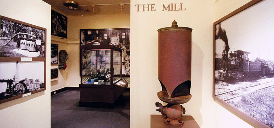 The Mill Room inside the Alexander & Baldwin Sugar Museum