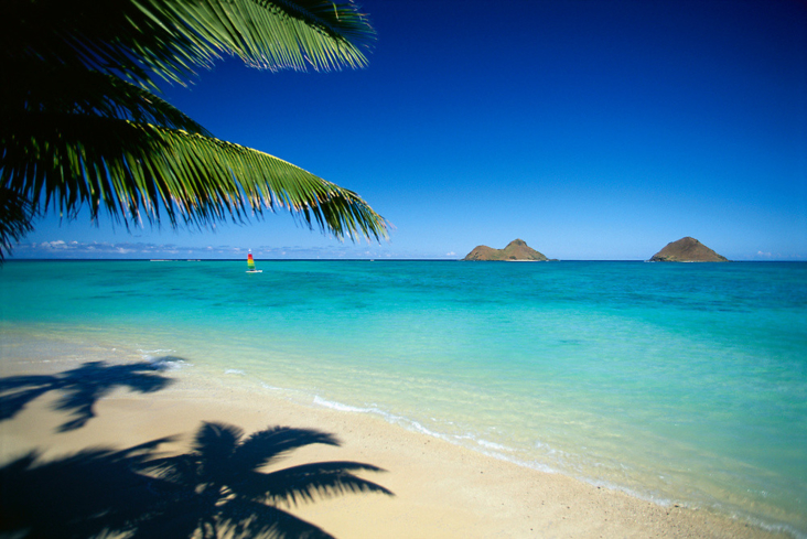 "Lanikai Beach translates to ""heavenly sea"""