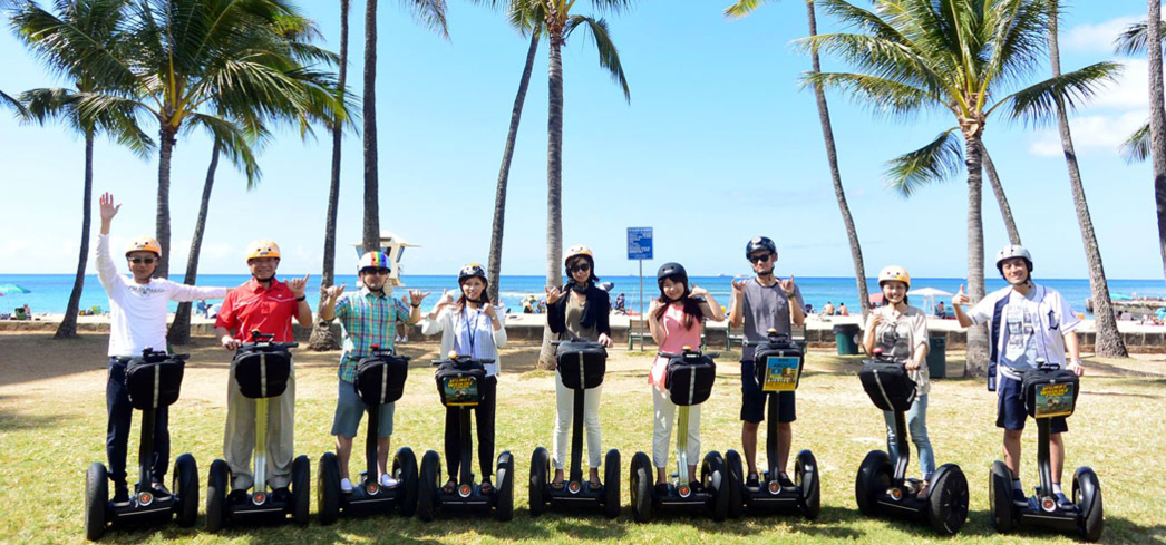 Glide your way through Waikiki with Segway of Hawaii