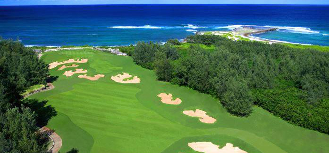 The Palmer Course at Turtle Bay Resort is lauded as the best course on Oahu