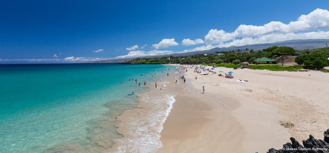 Hapuna Beach on the Big Island of Hawaii, one of GAYOT's Top Beaches in Hawaii