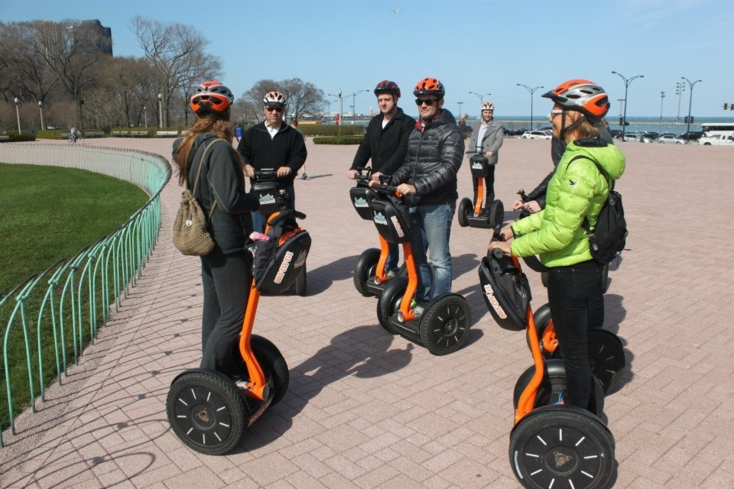See the sights of the city with Absolutely Chicago Segway Tours