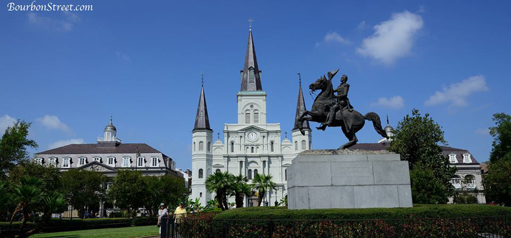 Jackson Square also known as Place d'Armes, is a marvelous public space