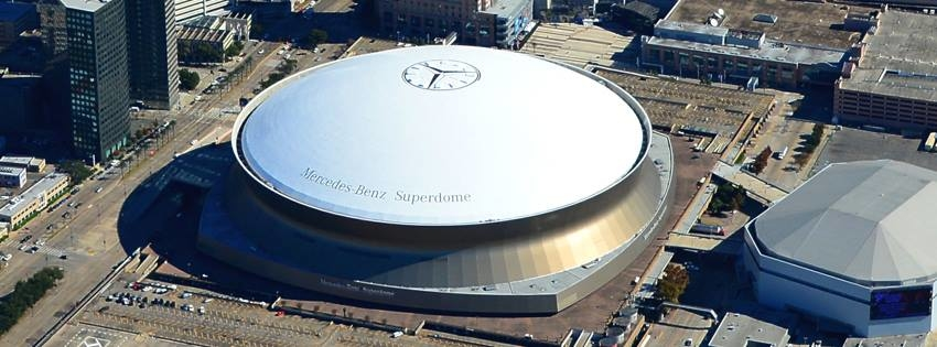 The Superdome is an absolute entertainment hub