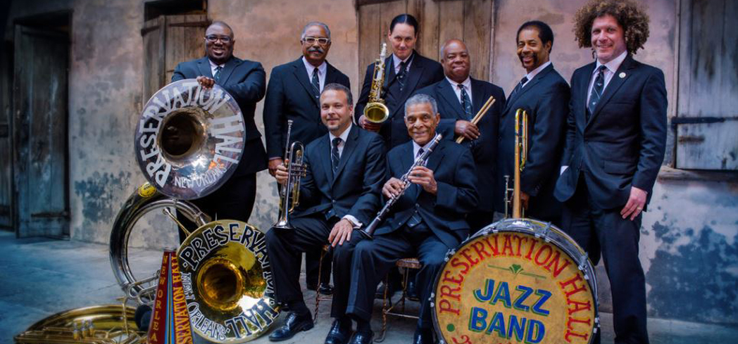 Preservation Hall is both a venue and name of the band
