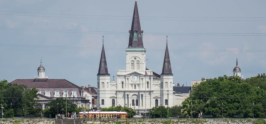 St. Louis Cathedral has stood since the 1700s