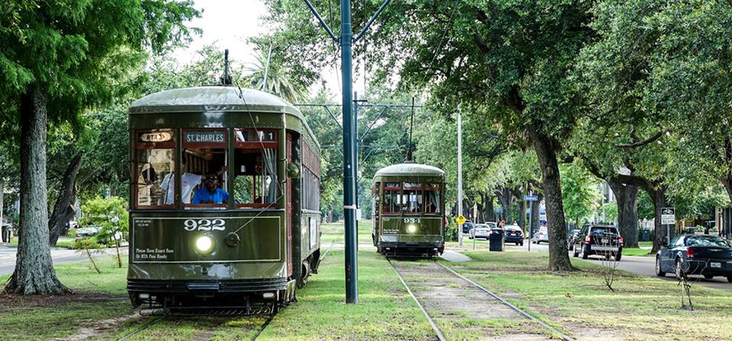 If you want to get around New Orleans like the locals, a trolley tour of the city is a nice option