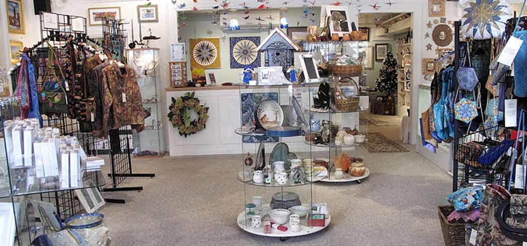 Inside Collections Gallery on Cape Cod