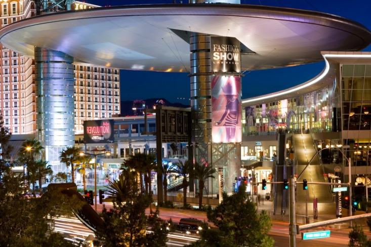 Shop till you drop at Fashion Show mall in Las Vegas