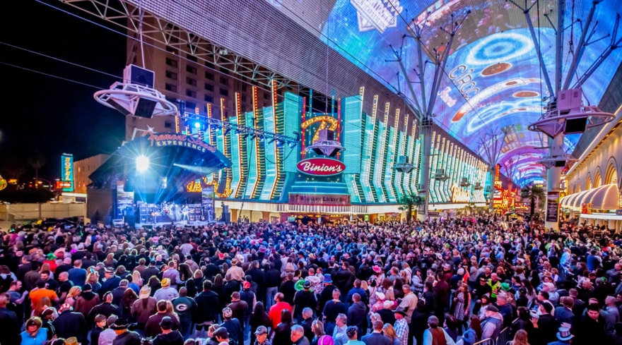 The Fremont Street Experience is a nice alternative to the Strip