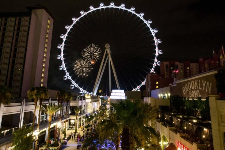 The High Roller at The LINQ in Las Vegas, Nevada