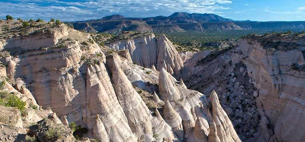 A view of the Kasha-Katuwe Tent Rocks