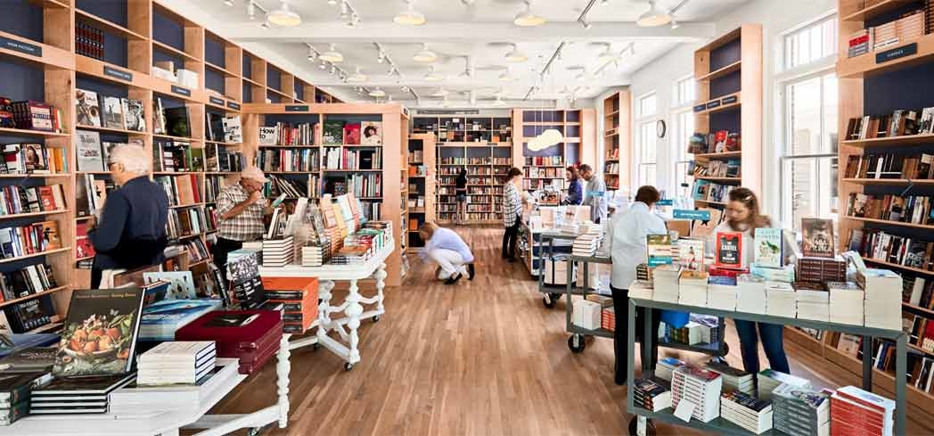 Inside BookHampton in East Hampton