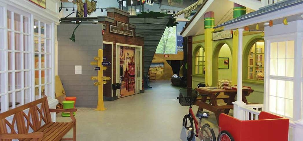 Main Street at Children's Museum of the East End