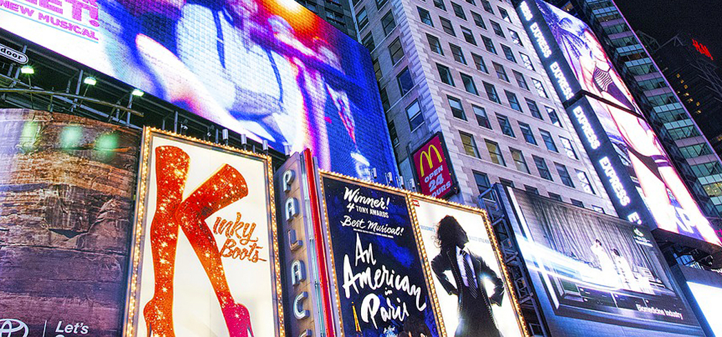 No trip to New York City is complete without at least one shine of the Broadway spotlight