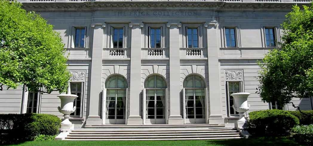 The exterior of the Frick Collection in New York City