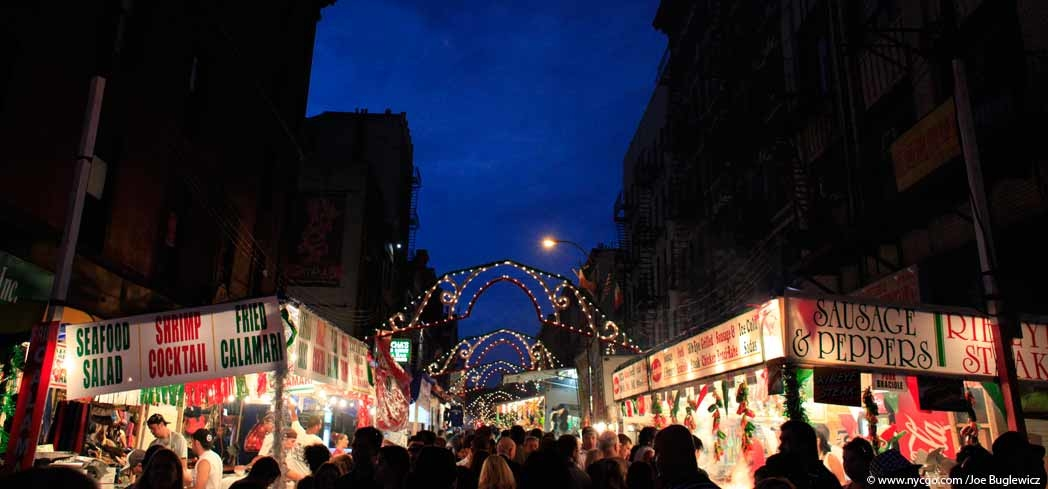 Little Italy during the San Gennaro Feast