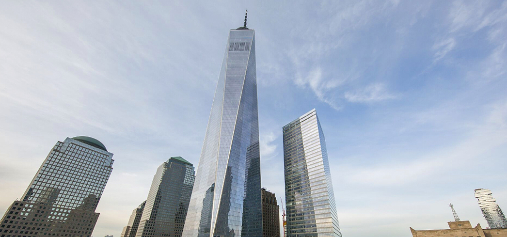 One World Trade Center stands as a tribute to the unwavering American spirit