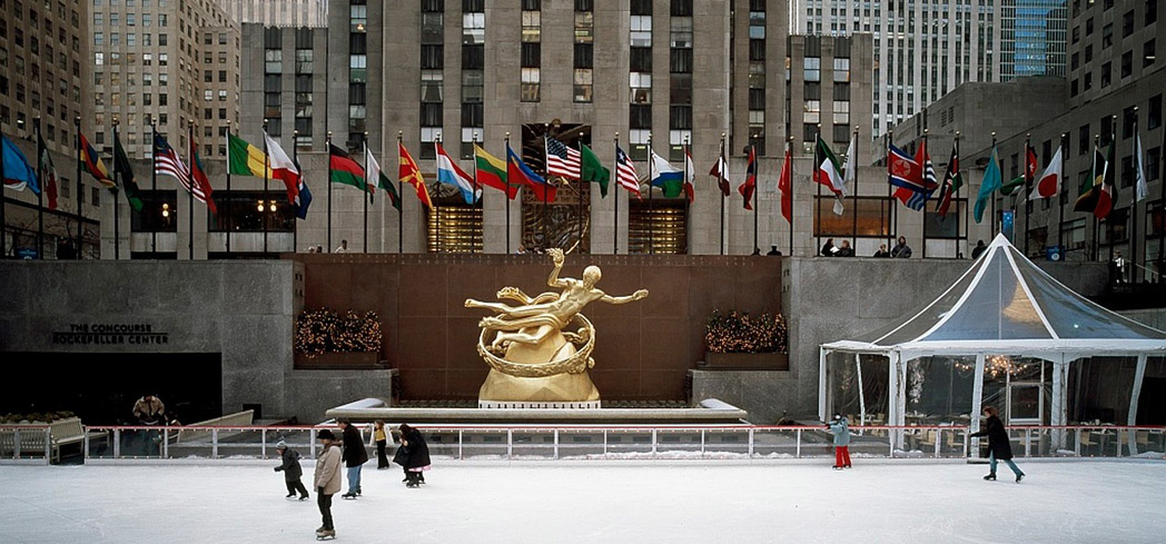 Rockefeller Center is the ultimate place to ice skate and take photos in New York City