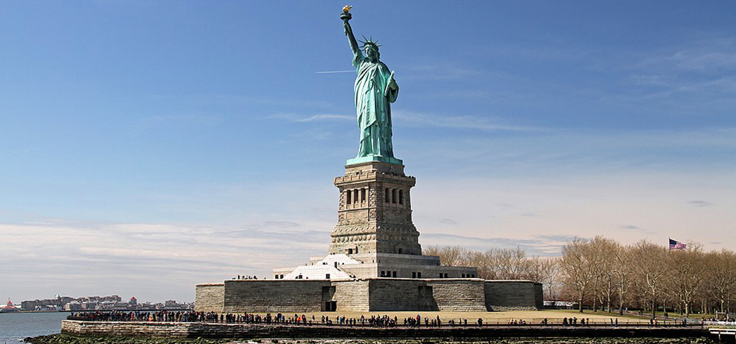 The Statue of Liberty is an enduring symbol of American opportunity