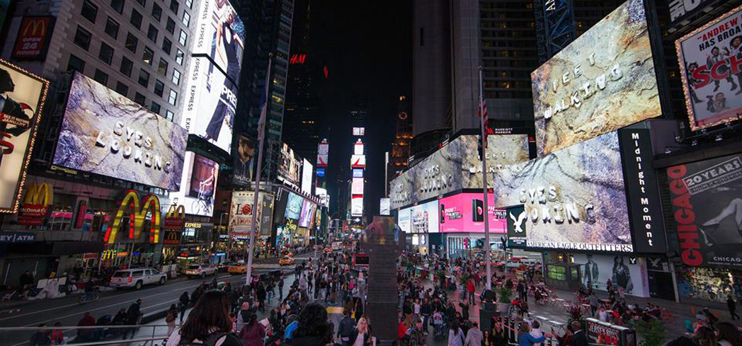 The world's biggest party kicks off in Times Square each New Year's Eve