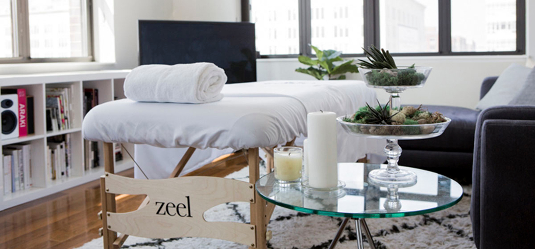 An on-demand massage by Zeel