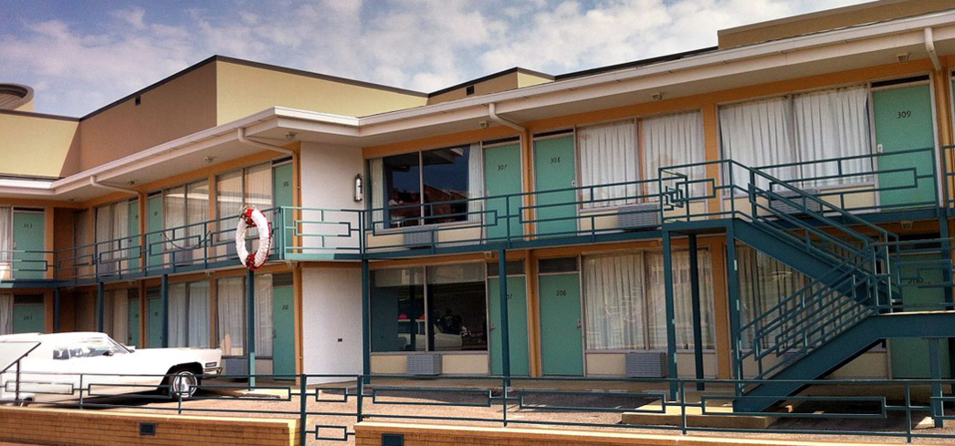 The Lorraine Motel, site of the National Civil Rights Museum