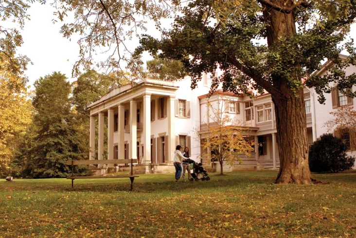 A view of Belle Meade Plantation in Nashville