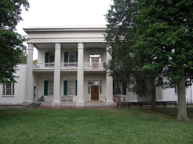 The exterior of The Hermitage in Nashville