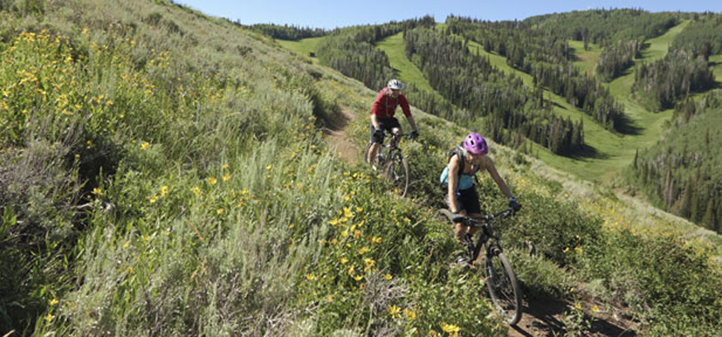 Deer Valley has nearly 70 miles of singletrack