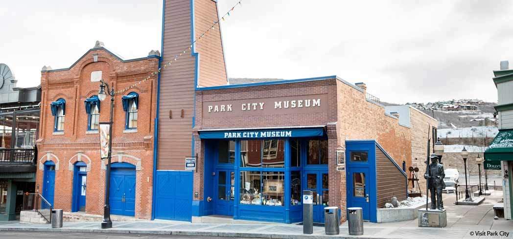 Park City Museum contains over 5,400 square feet of exhibits