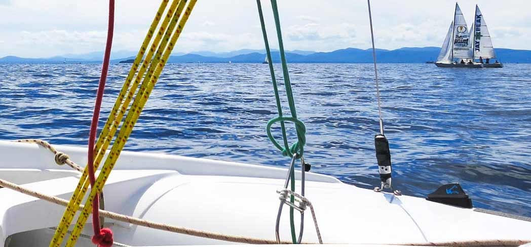 Float the waters with the Lake Champlain Community Sailing Center