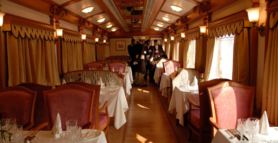 The Golden Chariot offers Old World elegance for travelers in South India