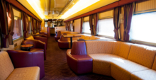 The Ghan's Gold Service Explorer Lounge