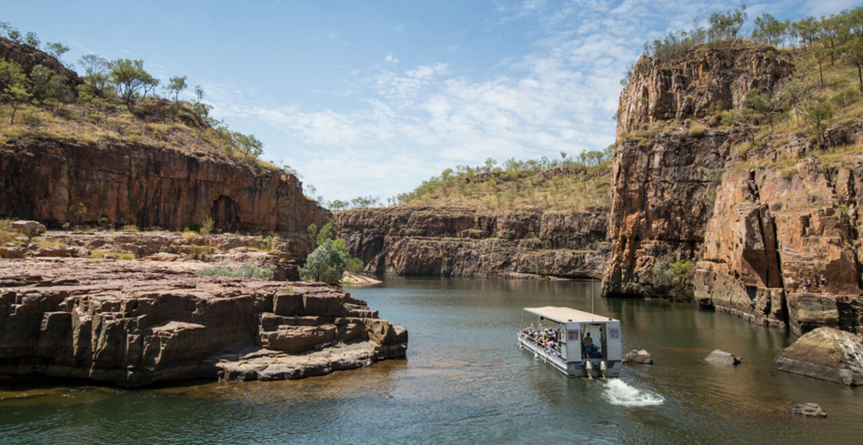 Nitmiluk National Park's Katherine Gorge boat excursion