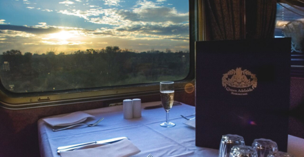 Views from the Queen Adelaide Restaurant