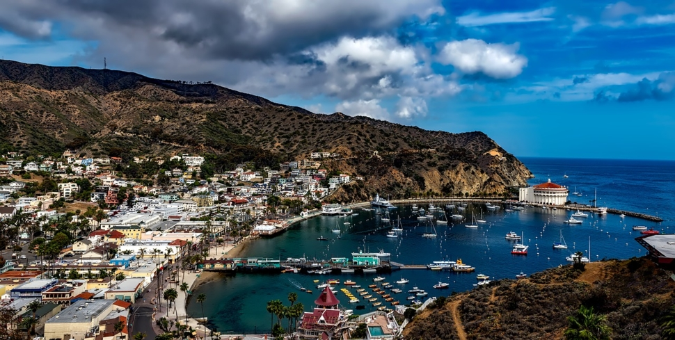 A view of Catalina Island, one of GAYOT's Top 10 Romantic Destinations