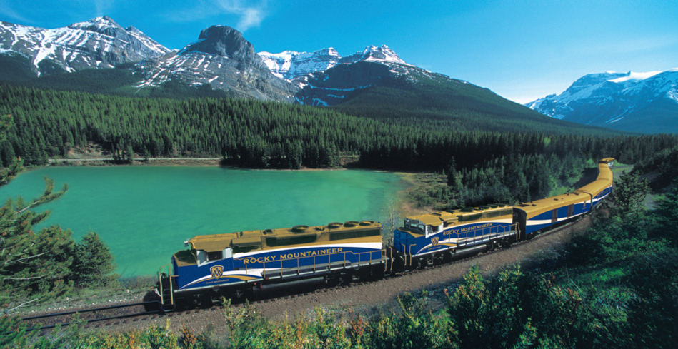 Take in the amazing views during your trip with Rocky Mountaineer