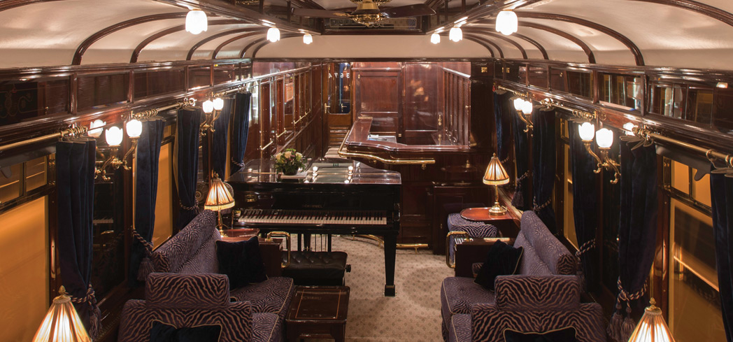 The Bar Car of the Venice Simplon-Orient-Express dates back to 1931
