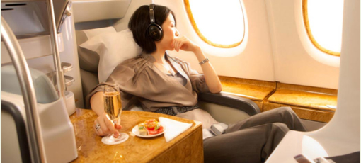 Fly Business Class in luxury with Emirates, one of GAYOT's Best Business Class Airlines
