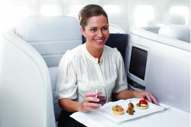 Tapas and wine make for a pleasant flight aboard Air New Zealand
