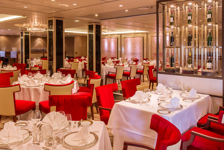 Dine at Todd English on the Queen Mary 2 and Queen Victoria