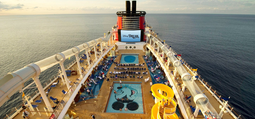 The Disney Cruise Line is great for the entire family