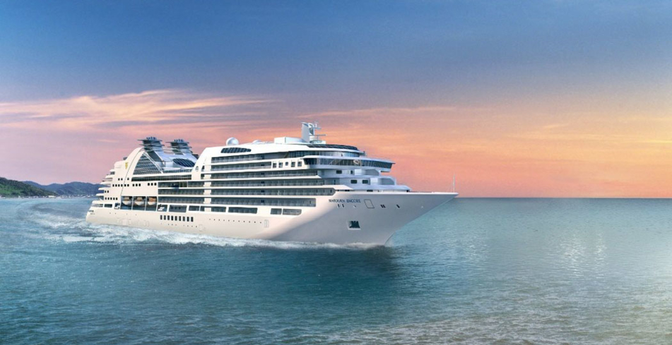 Seabourn Pride on the water