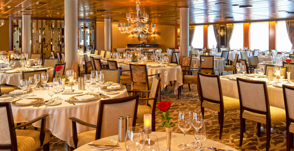 Fine dining on Windstar Cruises