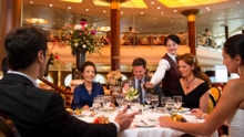 Wine and beverage packages are available while dining on Celebrity Cruises ocean liners
