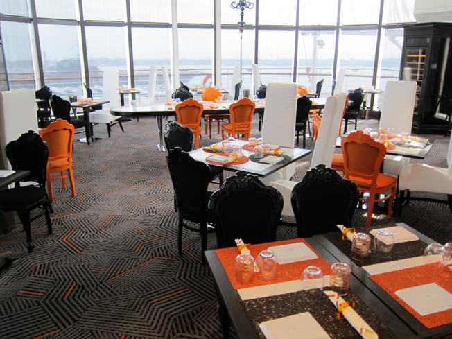 Qsine restaurant on the Celebrity Millennium
