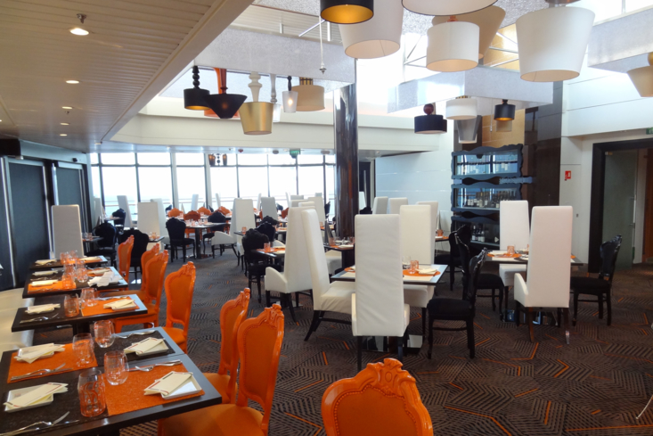 Qsine restaurant on the Celebrity Summit